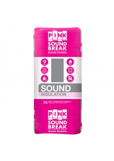 Pink Soundbreak Insulation Batts